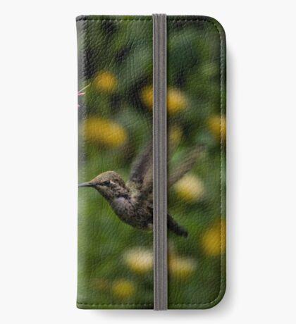 Annas Kolibri und Penstemon iPhone Flip-Case