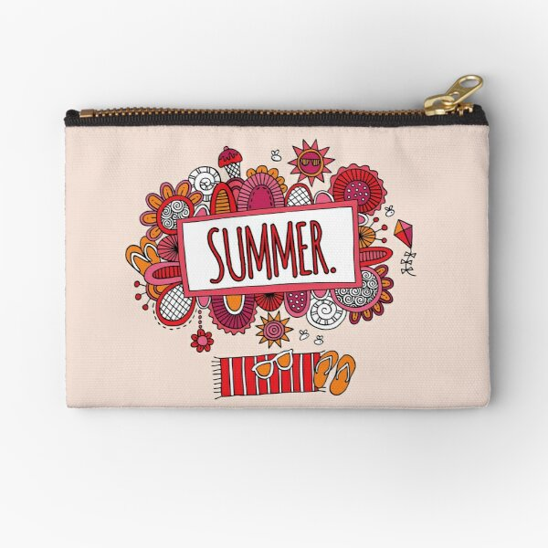 Summer Days Zipper Pouch
