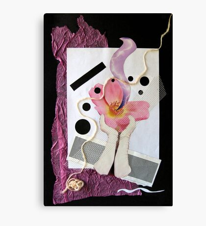 ...embrace feminine Canvas Print