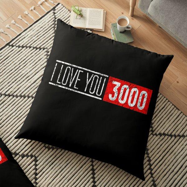 I love you 3000 Floor Pillow