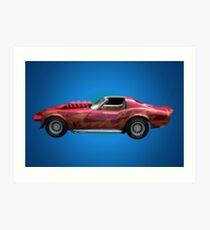 Corvette Summer Art Print
