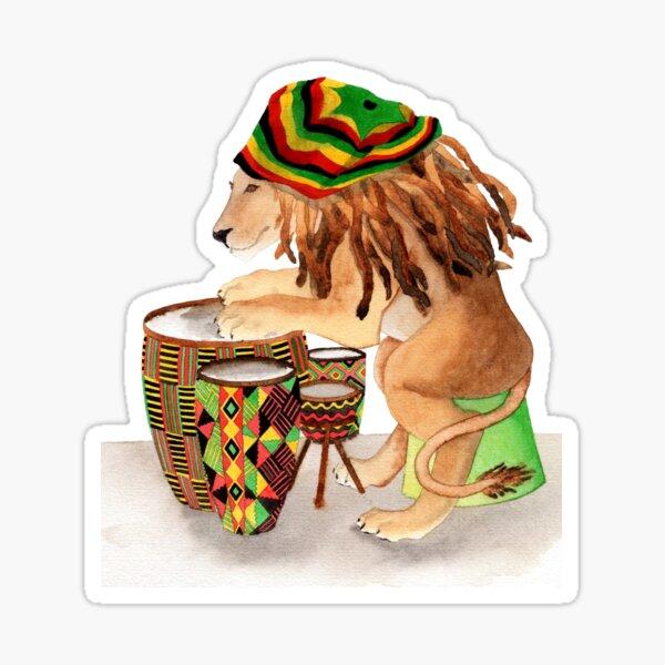 Cool Drummings Sticker