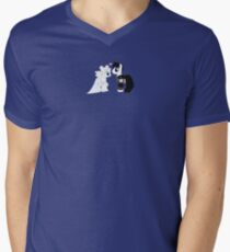 MLP Serenity and Endymion Men's V-Neck T-Shirt