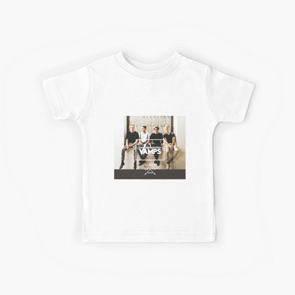the vamps four corners 2019 tour Kids T-Shirt