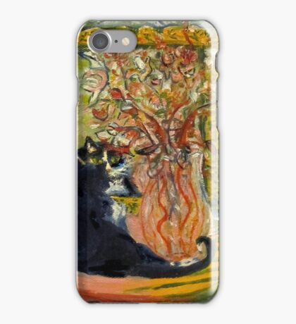Still Life with Cat iPhone Case/Skin