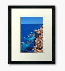 Great Australian Bight, South Australia Framed Print