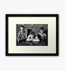 Tom Ellard with Severed Heads at Art Unit 1983 Framed Print