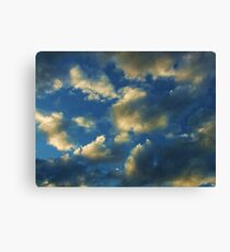 Screensaver Sunset Canvas Print