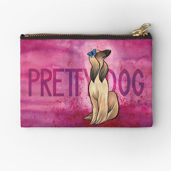 Pretty Dog Zipper Pouch