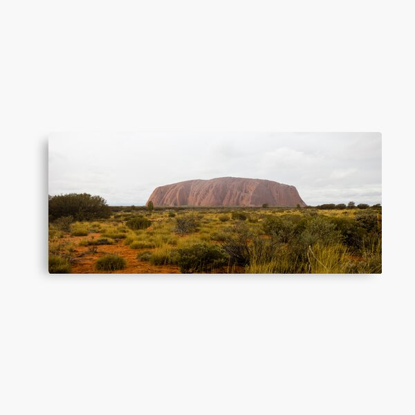 The Big Red Rock Canvas Print