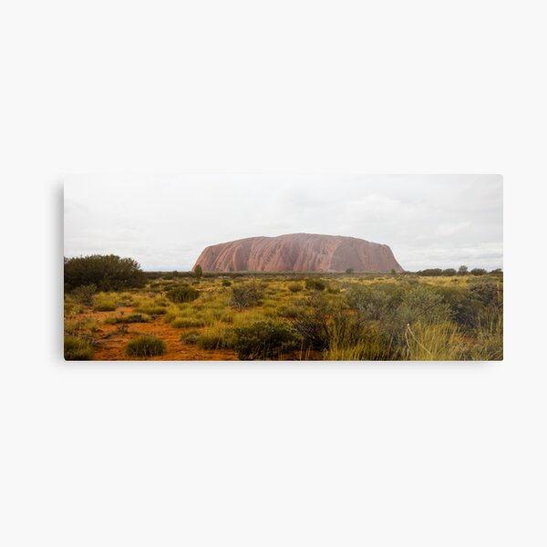 The Big Red Rock Metal Print