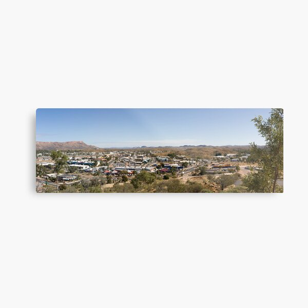 Anzac Hill Lookout Metal Print
