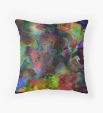 Pattern in color 1.1 Throw Pillow