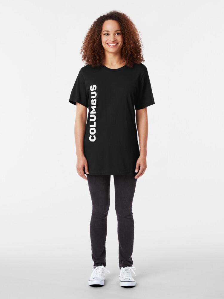Alternate view of Columbus Slim Fit T-Shirt