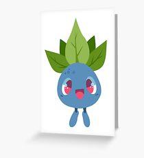 Oddish Vector Greeting Card