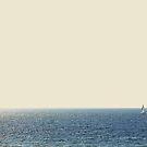 Boat on the ocean by gailgriggs