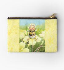 'Beebod' - cute bee-pixie Zipper Pouch