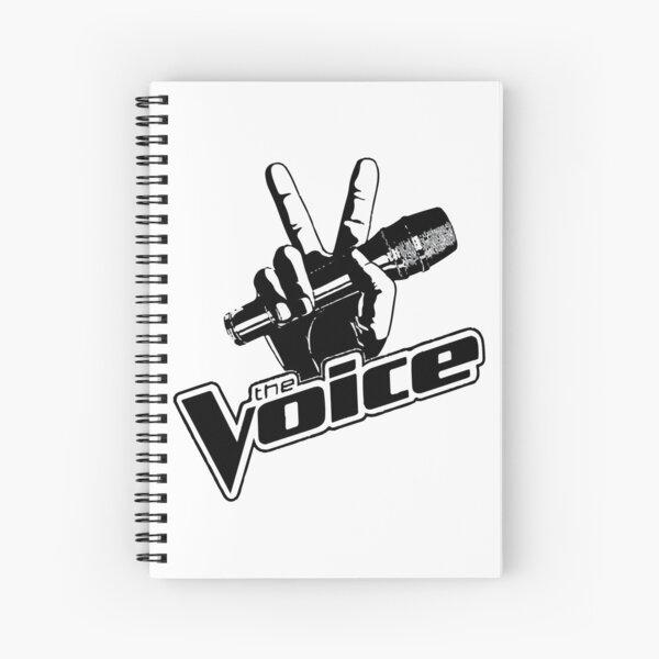 the voice Spiral Notebook