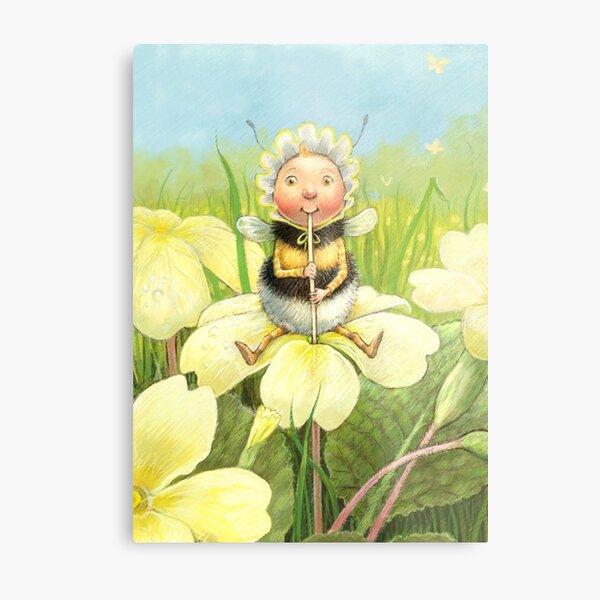 'Beebod' - cute bee-pixie Metal Print