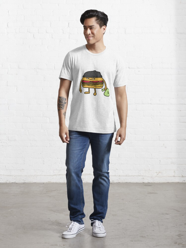 Alternate view of Robber burger Essential T-Shirt