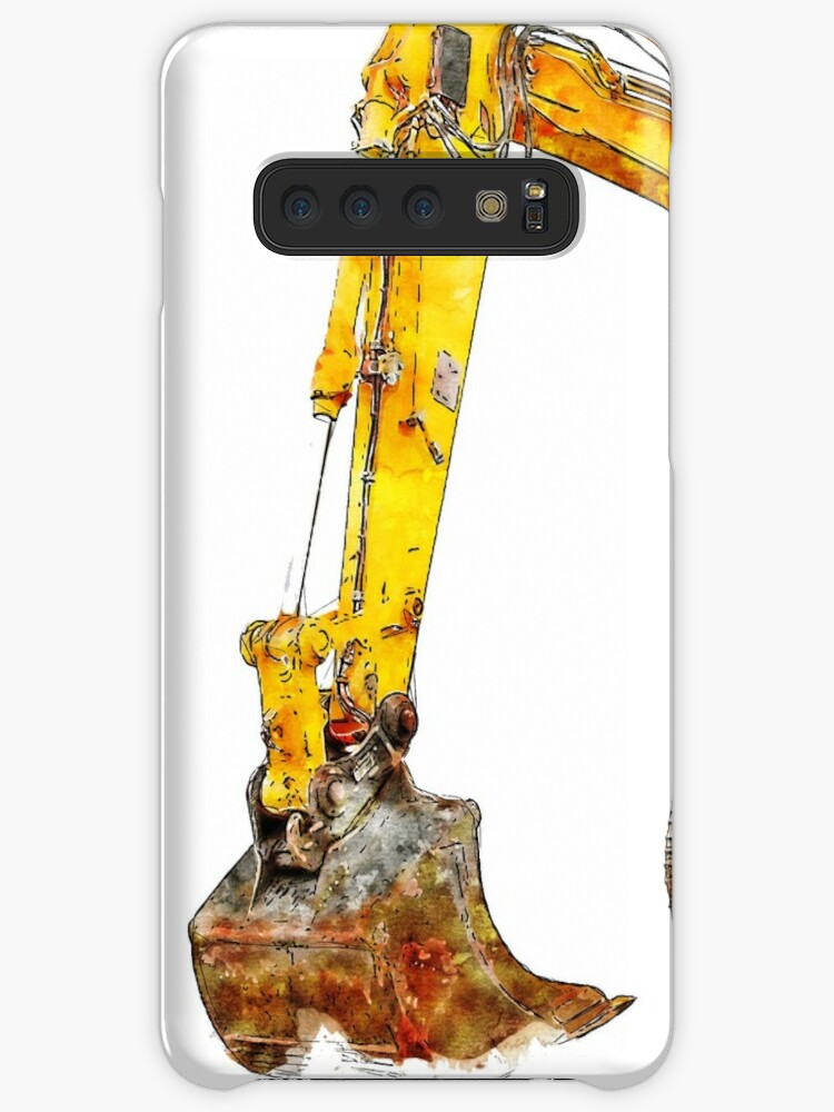 Loader Watercolor Drawing Case Skin For Samsung Galaxy By Lionstarart Redbubble