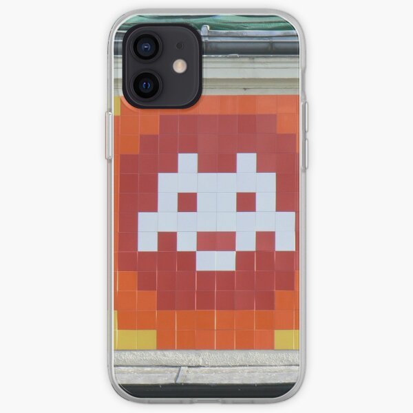 Space Invader - Multicolore Coque souple iPhone