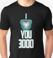 Ich liebe dich 3000 Slim Fit T-Shirt