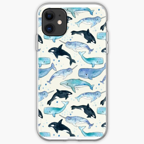 Whales, Orcas & Narwhals iPhone Soft Case