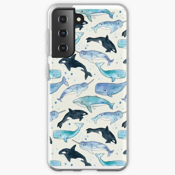 Whales, Orcas & Narwhals Samsung Galaxy Soft Case