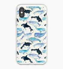 Wale, Orcas und Narwale iPhone-Hülle & Cover