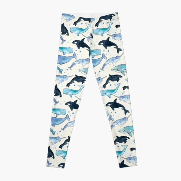 Whales, Orcas & Narwhals Leggings