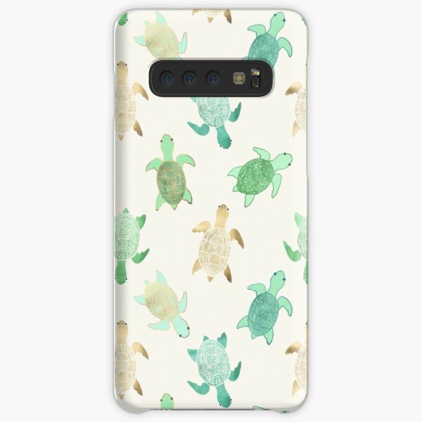Gilded Jade & Mint Turtles Samsung Galaxy Snap Case