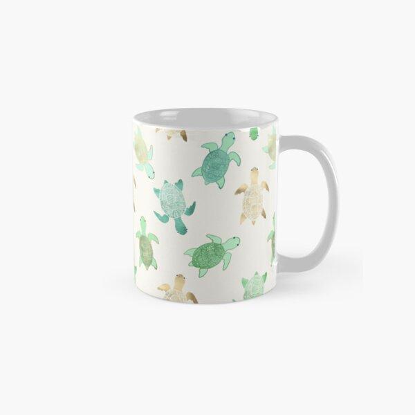 Gilded Jade & Mint Turtles Classic Mug