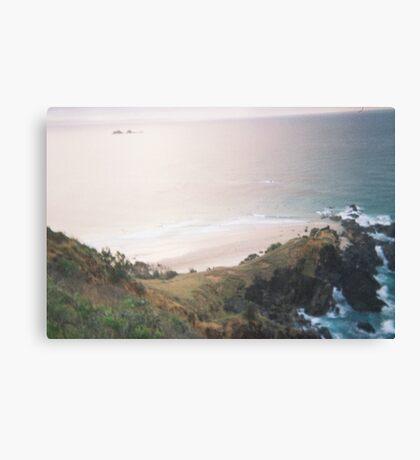 Calm Creativity Born on the Ocean Blue. Canvas Print