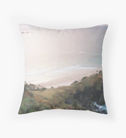 Calm Creativity Born on the Ocean Blue. Throw Pillow