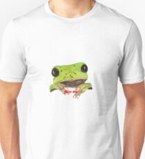 kiss the frog Slim Fit T-Shirt