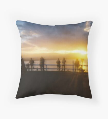 Silent Sentinels Throw Pillow