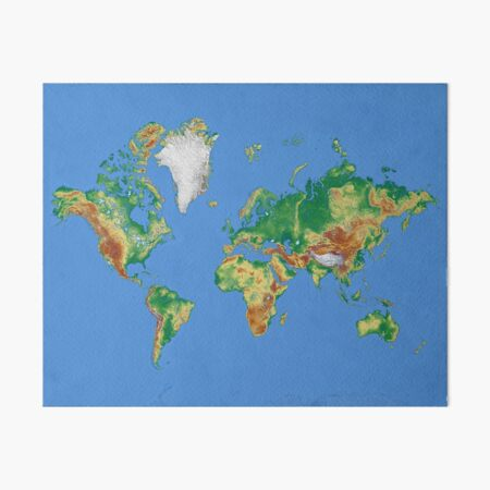 Our World Art Board Print