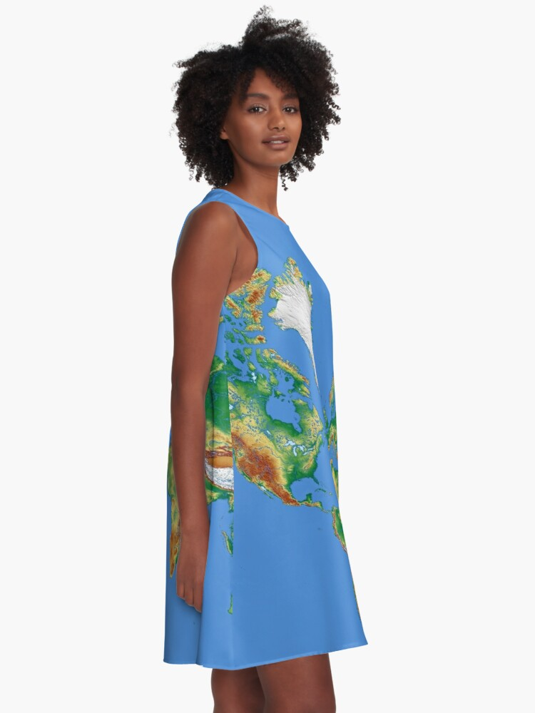 Alternate view of Our World A-Line Dress