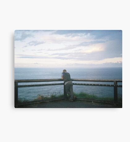 Not so alone. Canvas Print