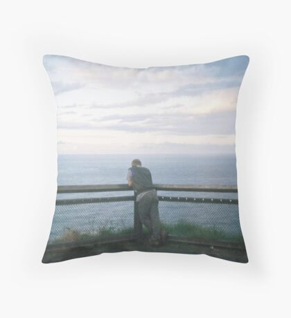 Not so alone. Throw Pillow