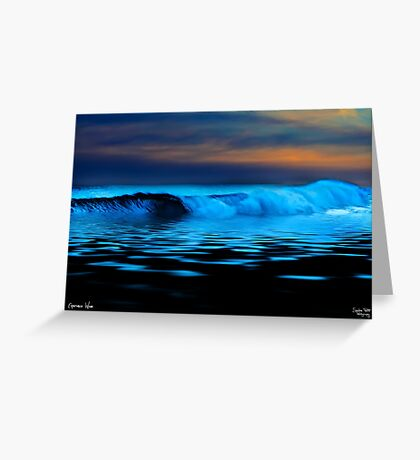 Esperance Wave Greeting Card