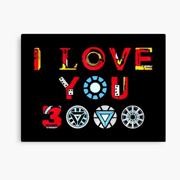 I Love You 3000 v3 Canvas Print