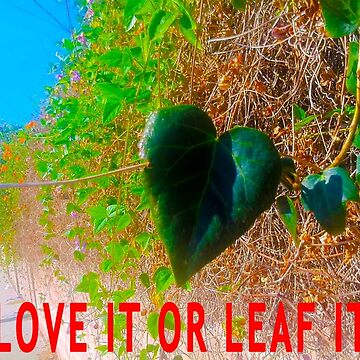 Love It Or Leaf It by pwponderings