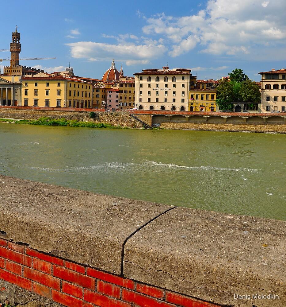 Arno River Quay II by Denis Molodkin