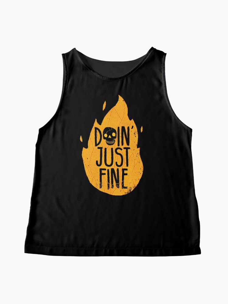 Alternate view of Doin' Just Fine Sleeveless Top