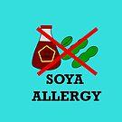 Soya allergy,soy allergy by martisanne