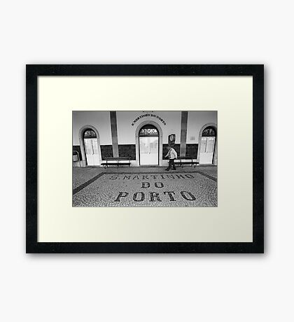 Station Framed Print