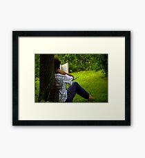 book review Framed Print