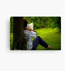 book review Canvas Print